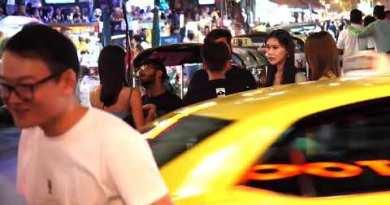 thailand pattaya Seaside – nana plaza resort Bangkok, Nightlife walking avenue,soi 7, red gentle diagram