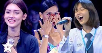TOP 3 Viral Singing Auditions on Thailand's Got Skills   Got Skills Worldwide