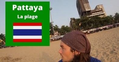 Pattaya plage digital nomade