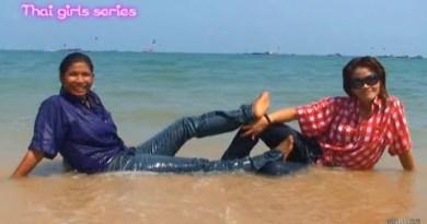 Pattaya Seashore Wet Denims Shoot (#GA2)