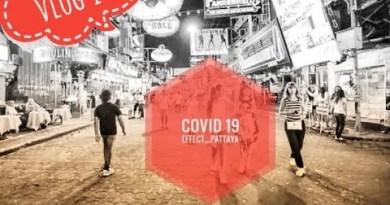 Thailand Pattaya Seaside Avenue in covid-19