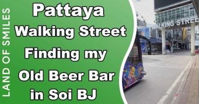 Pattaya Strolling Avenue Finding my extinct Beer Bar in Soi BJ