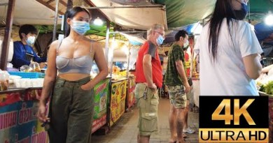 Pattaya 4K Stroll  LockDown Mumble. The first Night of the third Lockdown 2021 Could well perchance 1th.