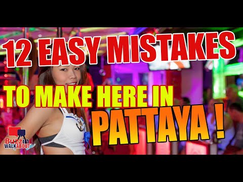 Straightforward Errors to get in Pattaya City. Put forward of the game and assist your self out of harms manner.