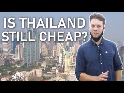 Thailand's REAL rate of living in 2021