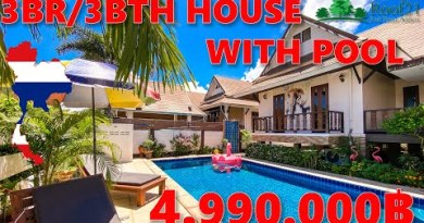 ROOF21 Items – 3BR/3BTH HOUSE with POOL for SALE in Pattaya – Thailand – S-0294F