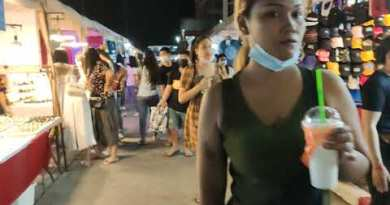 Pattaya evening markets are turning into the unique walking avenue 🤔!!