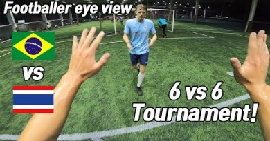 I met the Brazil workforce the soccer tournament in Thailand (preliminary round)