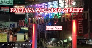 PATTAYA WALKING STREET    LATEST SCENES   SITUATION    SATURDAY NIGHT MAY 1, 2021    LarWenz TV