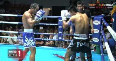 Kem Sitsongpeenog vs Yodsanklai Fairtex KO HD Muay Thai Wrestle Mania Pattaya #Yokkao3 @yokkaoboxing