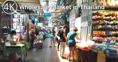 [4K THAILAND] Journey round Sampeng Market in Chinatown, Bangkok