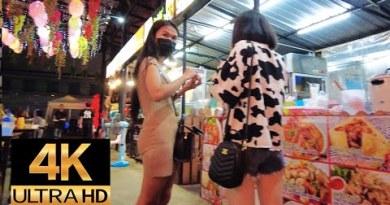 Pattaya 4K Stroll Tender LockDown Assign. Jun 2th. Earlier than Queen Birthday.