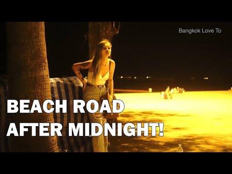 After tiring night in seaside avenue pattaya     @EntertainmentChannel