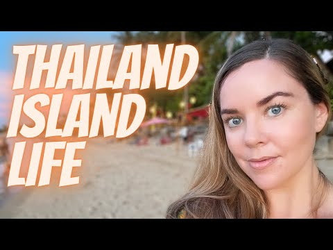 A day in my life on an ISLAND in Thailand vlog