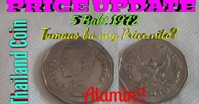 5 Baht 1972 Thailand Coin /Designate