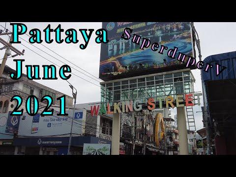 Pattaya Strolling Avenue -17th June 2021, Pattaya Reopend Strolling Avenue?