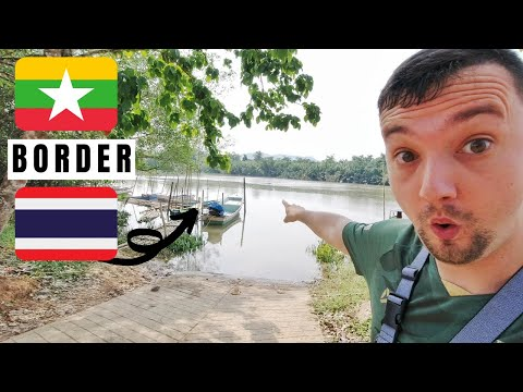 Thailand's Border With Myanmar – Merely This River? 🇹🇭