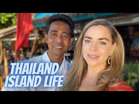 AMWF- My Birthday in Thailand- Thai husband/American associate in Koh Samui
