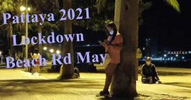 Pattaya Seaside Motorway Freelancer Night Scenes. Thailand, Might presumably, 2021, Buzzin Pattaya