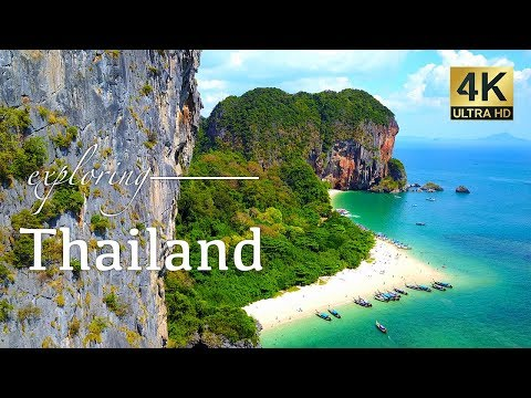 Thailand By Drone – Phuket, Phi Phi Islands & Krabi – 4K Gallop back and forth Video