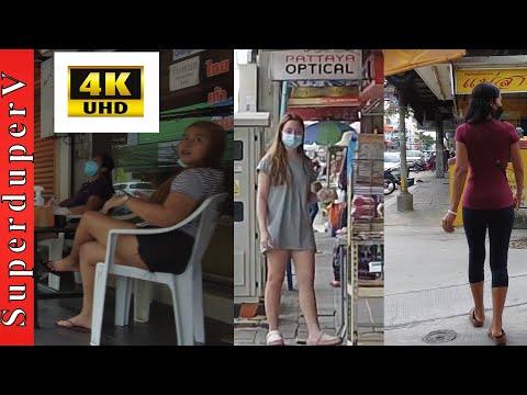 Pattaya Day Avenue Scenes July 2021 – Walking Tour 4K