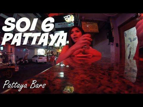 """Pattaya Soi 6 """"Ruby Club NightLife"""" April 2016 Thailand"""