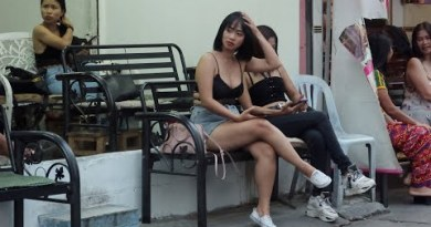 Day of Pattaya, Evening of Bangkok Thailand Avenue Scenes Pre-covid
