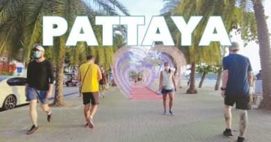 PATTAYA: Coastline Avenue   August 2021