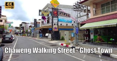 Ghost Town – Chaweng Walking toll road Koh Samui 2021   4K Walking tour Thailand   Streets of Thailand