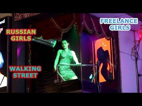 Pattaya Seaside road Nightlife    Freelance ladies    Russian Girls    Strolling Avenue