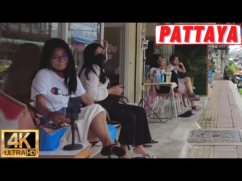 [4K] Pattaya Daylight Stroll, Soi Buakhao, Beach Road, Central Marina, Central Competition