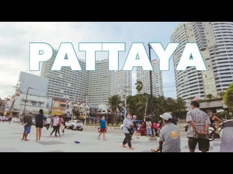 PATTAYA : Jomtien Seaside in Windy day. | July 2021