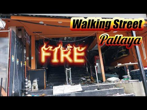 Pattaya Strolling Side road Fire at Nashaa Membership