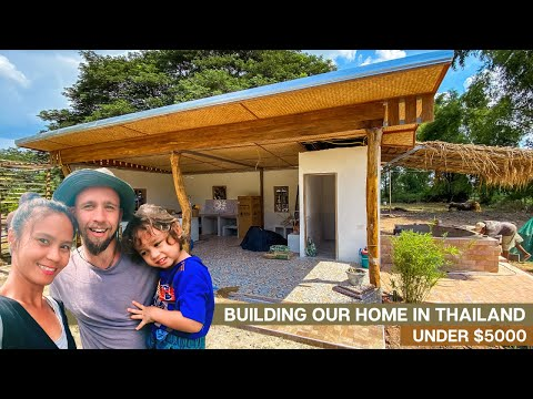BUILDING Our Home In THAILAND On A TINY Funds 🙌🇹🇭