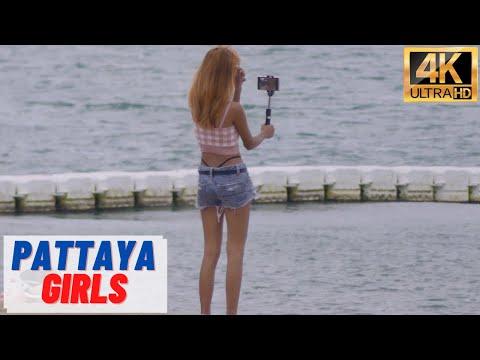 [4K] Pattaya  Girls, Seaside Avenue, Soi Buakhao #7