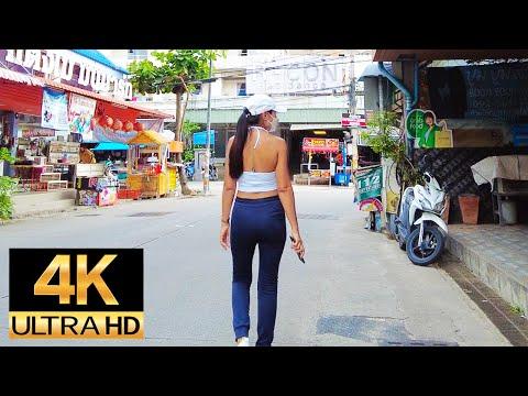 Pattaya 4K Plod Soi Honey, Soi Bua Khao, Pattaya Tai, Sunday Evening. 12.Sep.