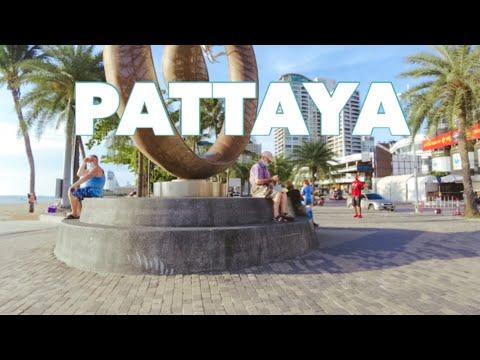 PATTAYA : Seaside Boulevard in June 2021 #pattaya #pattayatoday  #pattaya2021