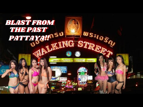 Pattaya Walking Avenue Blast From The Previous