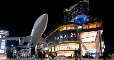 A stroll around Terminal 21 Purchasing Mall in Pattaya, Thailand after lockdown. (No longer Bangkok)