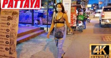 [4K] Pattaya Stroll, Pattaya Tai, Buakhao Market, 3rd Side road, Monumental C South Pattaya