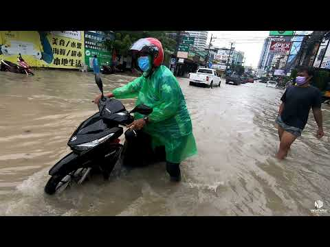 THE GREAT FLOODS OF PATTAYA, THAILAND