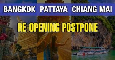 Bangkok, Pattaya & Chiang Mai Attach off Re-opening