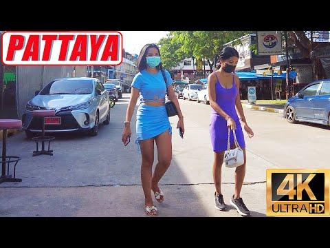 [4K] Pattaya Stroll, Sea streak Road, Soi 8, Soi Sip Chet, Soi Regional Land