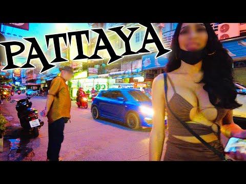 Pattaya, Thailand. Soi Buakhao, Pattaya Seaside Road, Soi 6. October 2021
