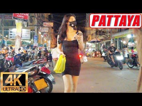 [4K] Pattaya Stroll, Strolling Avenue, Coastline Avenue, third Avenue, Soi Buakhao