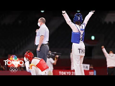 Thailand's Panipak Wongpattanakit wins first taekwondo gold   Tokyo Olympics   NBC Sports actions