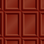 板チョコのようなパターン