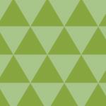 三角形を組み合わせた鱗紋パターン