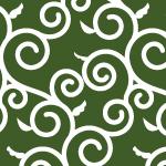 風呂敷でよく見かける唐草模様のパターン