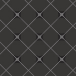 黒い背景に白いラインが交差するクールなパターン